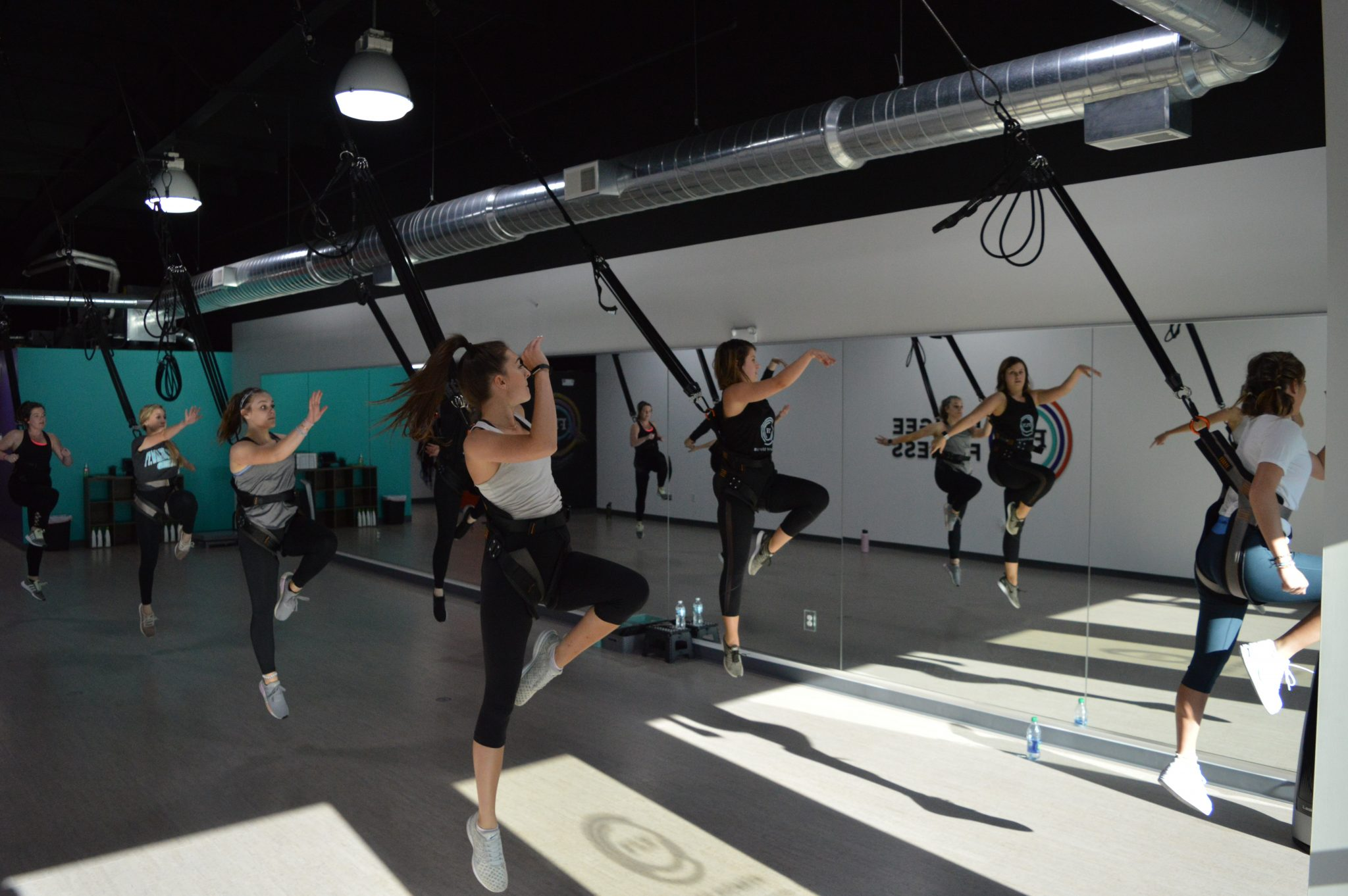 Bungee Fitness W Feel The Freedom Trening Youtube
